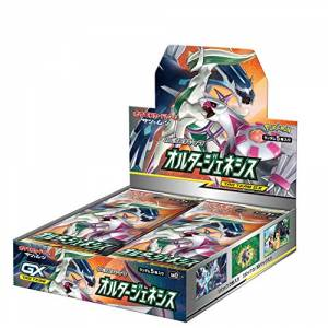 Pokemon Card Game Sun & Moon Booster Expansion Pack Alternative Genesis 30 Pack Box [Trading Cards]