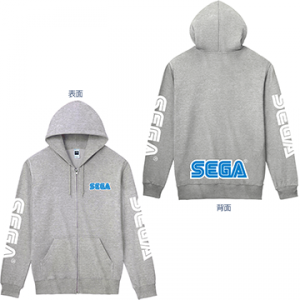 SEGA LOGO Hoodie (Gray) - Tokyo Game Show 2019 Limited Edition [Goods]