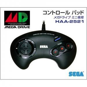 Official Controller for Mega Drive Mini (Three Button Control Pad) [SEGA - Brand new]