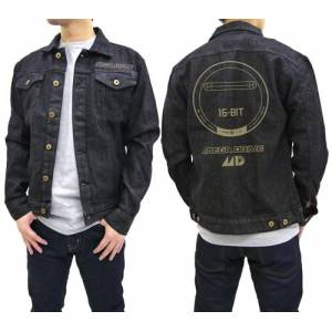 Mega Drive Denim Jacket Black- Tokyo Game Show 2019 Limited Edition [Goods]