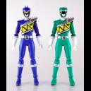Zyuden Sentai Kyoryuger - Kyoryu Blue & Kyoryu Green Set (Limited Edition) [SH Figuarts]