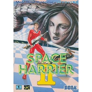 Space Harrier II [MD - Used Good Condition]