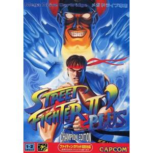 Street Fighter II' Plus - Champion Edition [MD - Used Good Condition]