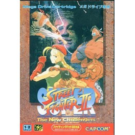 Super Street Fighter II - The New Challengers [MD - Used Good Condition]