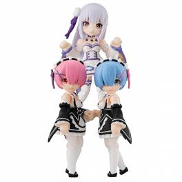 Desktop Army - Re:ZERO -Starting Life in Another World 3 Pack BOX [MegaHouse]
