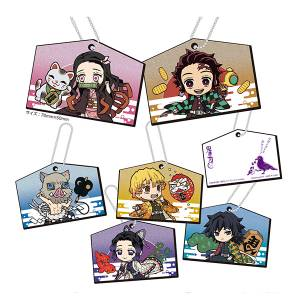 KiraKira Acrylic Mascot Kimetsu no Yaiba / Demon Slayer Ema Ver. 6 Pack Box [Megahouse]