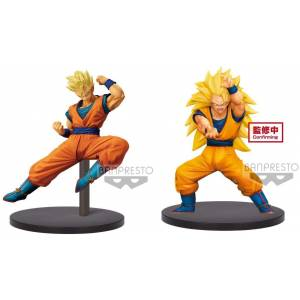 Dragon Ball Super - Chousenshi Retsuden - Vol.4 - Super Saiyan Son Gohan and Son Goku [Banpresto]