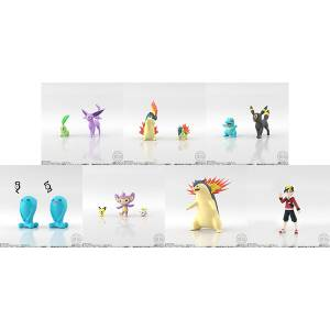 Pokemon Scale World Johto Region Set (12 pack box) [Bandai]