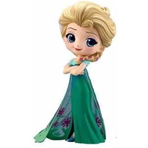 Q posket Disney Characters - Elsa Frozen Fever Design [Banpresto] [Used]