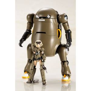 "Frame Arms Girl Hand Scale Gourai with 20 Mechatro WeGo ""Brown"" Plastic Model [Kotobukiya]"