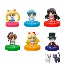 Sailor Moon Puchitto Oshioki yo! Part 2020 ver. 6 Pack BOX [Petit Chara! / MegaHouse]
