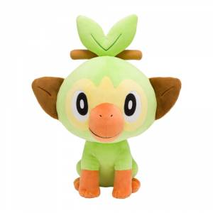 Pokemon - Grookey life-size Plush - Pokemon Center Limited [Goods]