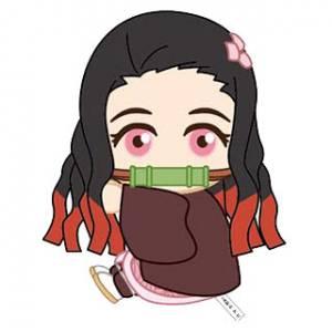 Pitatto Mascot Kimetsu no Yaiba 02 Nezuko Kamado [Goods]