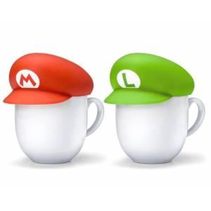 Super Mario Home & Party Mug Cover (Mario / Luigi) [Goods]
