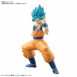 Dragon Ball Super - Super Saiyan God Super Saiyan Son Goku Plastic Model [ENTRY GRADE / Bandai]