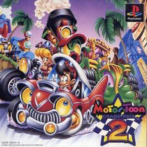 Motor Toon Grand Prix 2 [PS1 - Used Good Condition]