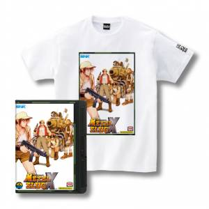 Romty! Metal Slug X T-shirt SNK ONLINE SHOP Limited Edition [Goods]