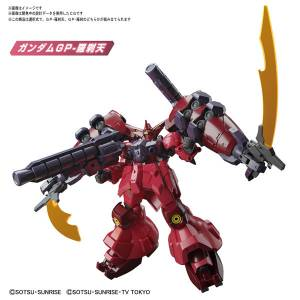 Gundam Build Divers Re:RISE - Gundam GP-Rase-Two Ten Plastic Model [1/144 HGBD:R]