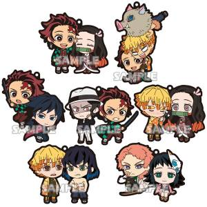 Demon Slayer / Kimetsu no Yaiba Rubber Strap DUO 7 Pack BOX [Goods]
