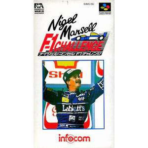 Nigel Mansell F-1 Challenge / Nigel Mansell's World Championship [SFC - Used Good Condition]