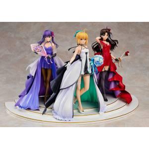 Fate/stay night Saber Rin Tohsaka Sakura Matou -15th Celebration Dress Ver.- Premium Box [Good Smile Company]