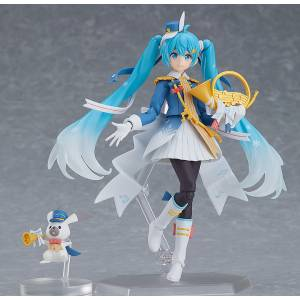 Figma Snow Miku: Snow Parade ver. Character Vocal Series 01: Hatsune Miku Limited Edition [Figma EX-060]