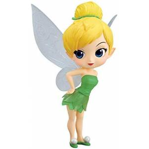 Tinker Bell Leaf Dress - Q posket Disney Character [Banpresto] [Used]