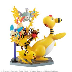 G.E.M. EX Pokemon Denki type set! Electric Power! [Megahouse]