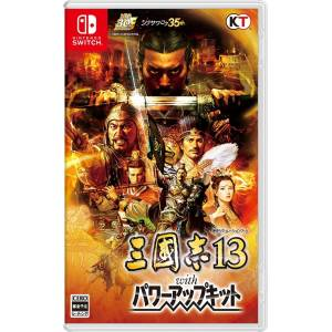 Sangokushi 13 with Power Up Kit / Romance of the Three Kingdoms XIII [Switch - Occasion]