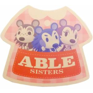 Travel Sticker Animal Crossing Able Sisters [Goods]