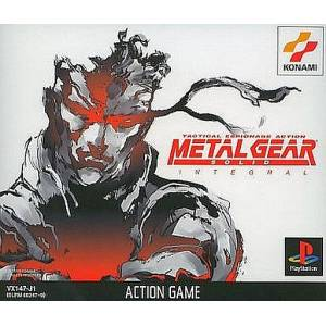 Metal Gear Solid Integral [PS1 - occasion BE]