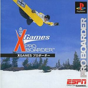 X Game Pro Boarder [PS1 - Used Good Condition]