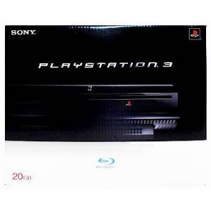 PlayStation 3 20GB Black (Rétro-compatible PS2) [Occasion]