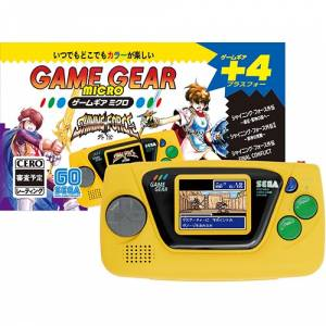 Game Gear Micro Yellow [SEGA - Brand new]