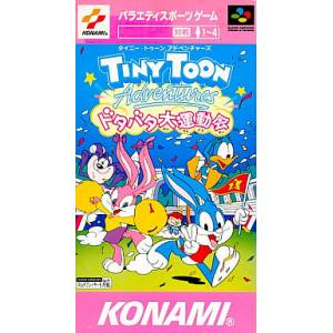 Tiny Toon Adventures - Dotabata Dai Undoukai / Wild & Wacky Sports [SFC - Occasion BE]