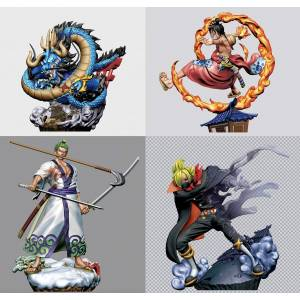 LOGBOX RE BIRTH ONE PIECE Wano Country Arc One 4 Pack BOX  [Megahouse]