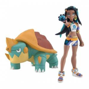 Pokemon Scale World Rurina (Nessa) & Kajirigame (Drednaw) Limited Edition [Bandai]