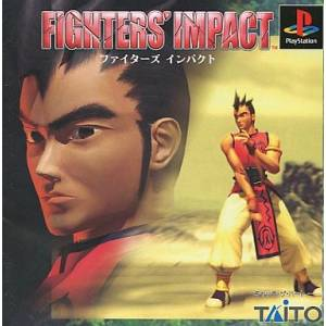 Fighters' Impact [PS1 - Used Good Condition]