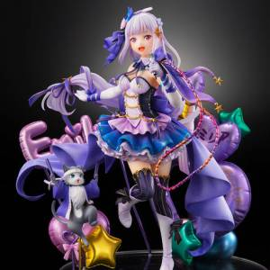 Emilia & Puck Idol Ver. Re:Zero Starting Life in Another World LIMITED Edition [Shibuya Scramble Figure]