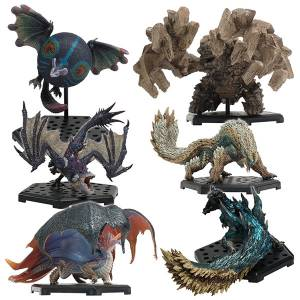 Capcom Figure Builder Monster Hunter Standard Model Plus Vol.17 - 6 Pack BOX [CFB]