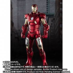 SH Figuarts Iron Man Mark 7 - AVENGERS ASSEMBLE EDITION -  Limited [Bandai]