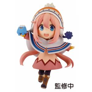 Yuru Camp Nadeshiko Kagamihara Mini Figure [Plum]