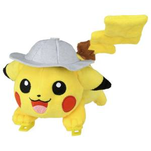Pokemon Plush Shoulder Riding Movie Hat Pikachu [Goods]