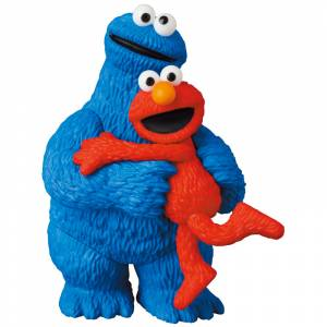 UDF SESAME STREET Series 2 ELMO & COOKIE MONSTER [Ultra Detail Figure No.582 ]
