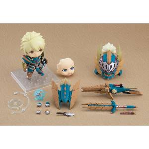 Nendoroid Hunter: Male Zinogre Alpha Armor Ver. DX MONSTER HUNTER WORLD: ICEBORNE [Nendoroid 1421‐DX]