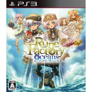 Rune Factory Oceans / Rune Factory - Tides of Destiny [PS3 - Used Good Condition]