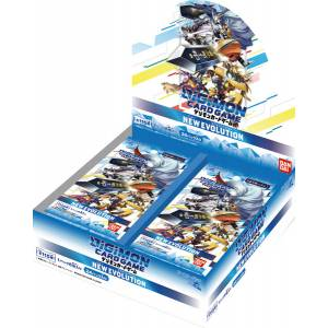 Digimon Card Game Booster ver.1.0 NEW EVOLUTION 24 Pack BOX [Trading Cards]