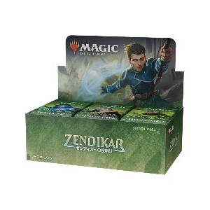 Magic The Gathering Zendikar Rising Draft Booster Japanese Version 36 Pack BOX [Trading Cards]