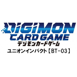 Digimon Card Game Booster Union Impact (BT-03) 24 Pack BOX [Trading Cards]