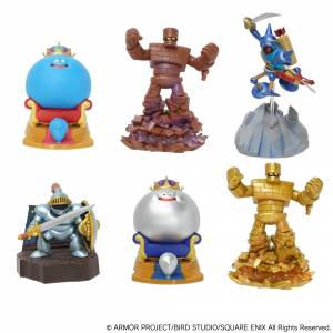 Dragon Quest 3D Monster Encyclopedia 6 Figures BOX [Square Enix]